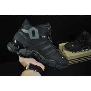 ботинки Adidas Terrex 465 арт 20872 (зимние, мужские, черные)