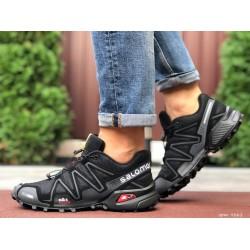 Кроссовки мужские для бега и зала Salomon Speedcross 3,черные
