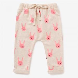 Штаны для девочки Розовый кролик Jumping Beans