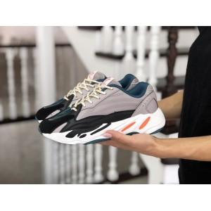 Женские кроссовки Adidas Yeezy Boost 700,серые (капучино)