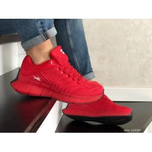 Весенние кроссовки Reebok,текстиль,красные
