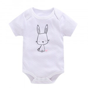 Боди для девочки Rabbit, розовый Berni