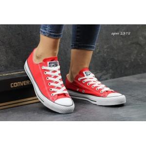 Женские Кеды Converse красные