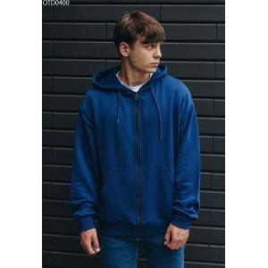 Толстовка Staff g blue basic zip oversize