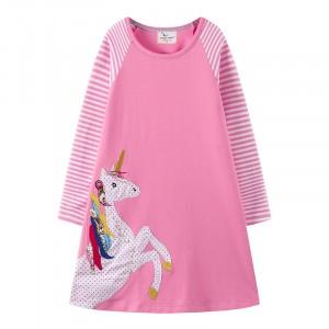 Платье для девочки Большой единорог Jumping Meters
