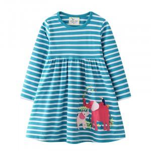 Платье для девочки Слоники Jumping Meters