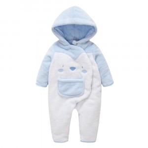Комбинезон утепленный детский Cheeks, голубой Berni