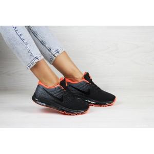 Женские кроссовки Nike air max 2017,черные с серым